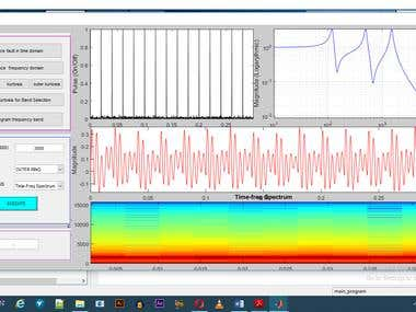 MATLAB PROJECT Bearing Fault Analysis