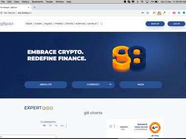 G8POOL CRYPTO SITE - PSD TO HTML
