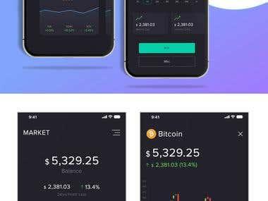 Bitcoin Market App