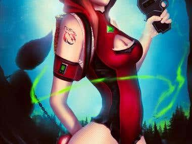 Ylva champion hero character concept2