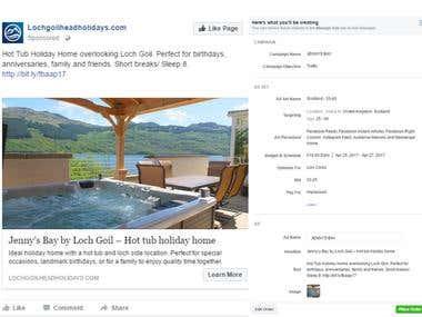 Facebook Ads to get targeted traffics