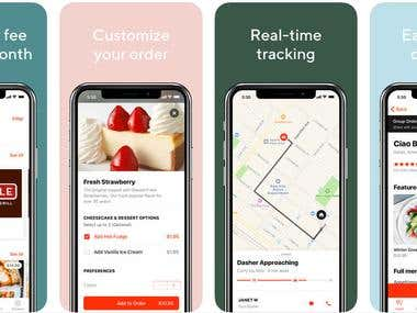 Food/Delivery app