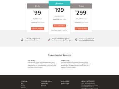 Webstore Pricing