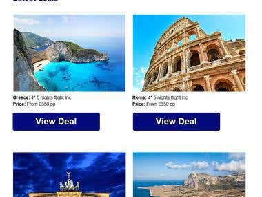 Travel agency example