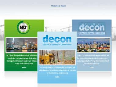 Website Design For Decon