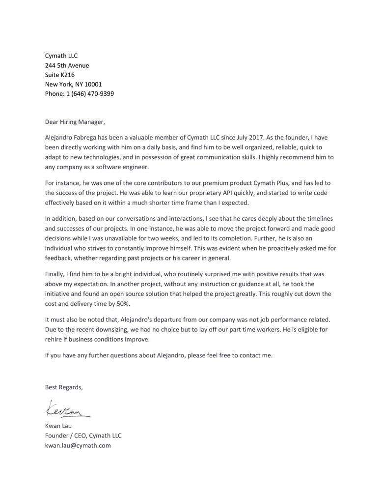 Recommendation Letter From Former Employer from cdn3.f-cdn.com