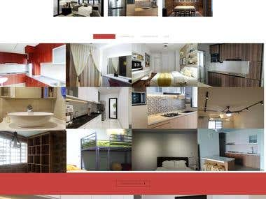 Interior Design Onepage Theme