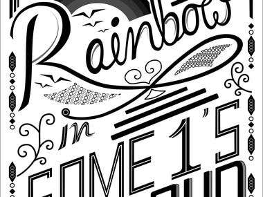 Hand Lettering..