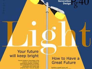 Book Cover Design or Magazine Cover Page Design
