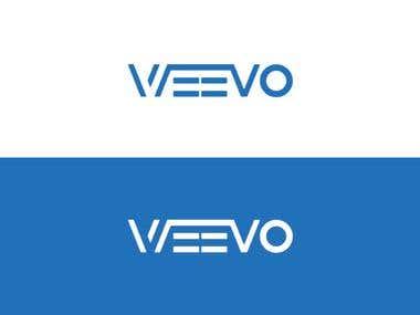 Wevoo blue corporate logo.