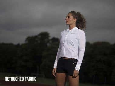 Nike Fabric Retouching