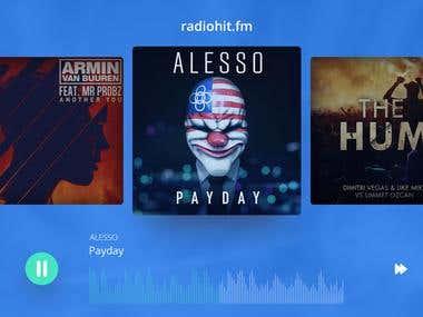 Radio Hit Mockup