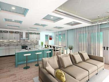 Interior 3D modeling