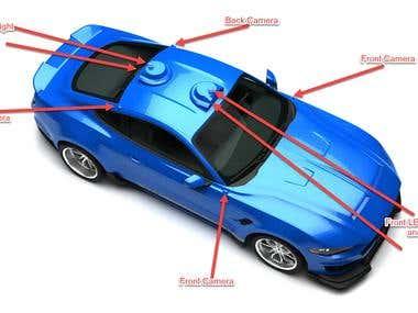 Car Warning LED System