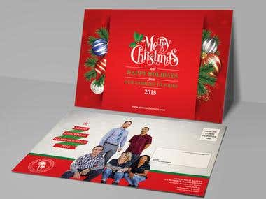 Christmas Card, Gift Card, Post Card, Invitation Card