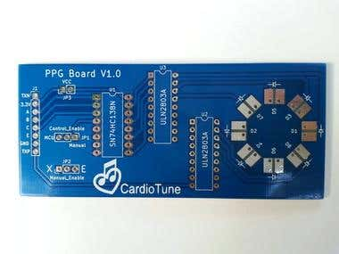 PCB Design - Led Switching