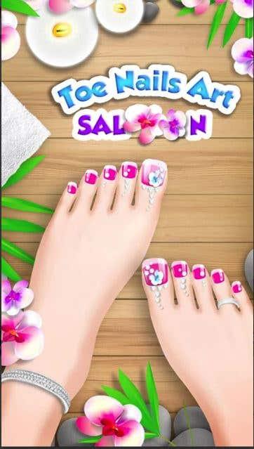Princess Girl Toe Spa Salon
