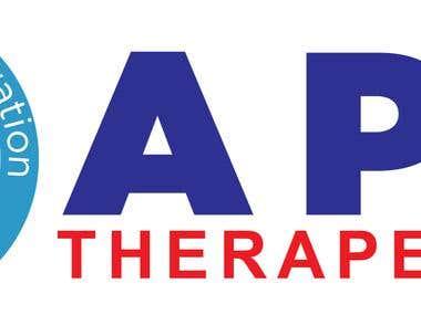 Logo design of APO therapeutic