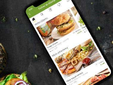 Online Food Order Android & Ios APP
