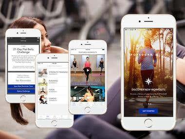 Fitness App - Ionic