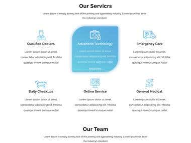 Website for Doctor Clinic