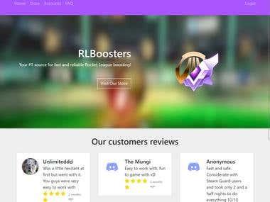 RocketLeague Boosters