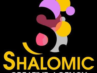 Shalomic Logo Design