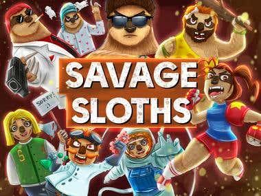 Savage Sloths