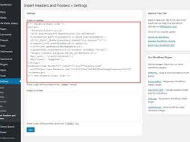 Install Facebook Remarketing/Retargeting Pixel in WordPress