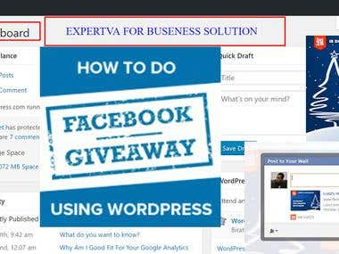 Boost Your Likes by Creating a Facebook Giveaway Using WP