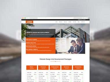 Website Front-end Development