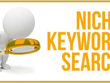 Keyword (Nicsh) Research for a growing company.