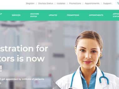 SHREP Website and CRM