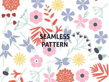 Seamless Print Pattern Design