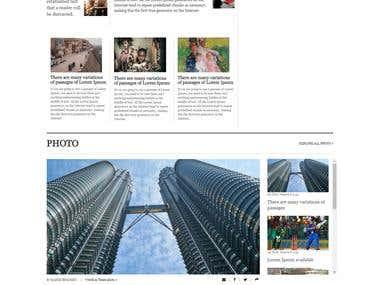 News paper Site (Wordpress Multi Language)