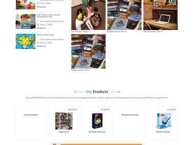 Online Buy Books (Woocommerce)