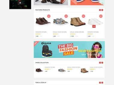 E-Commerce site (Php)