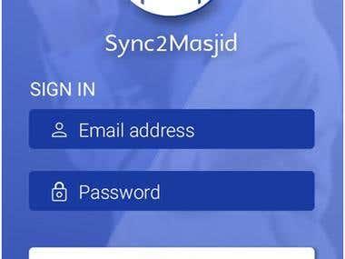Sync2Masjid