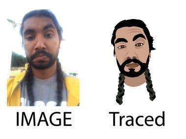 face tracing