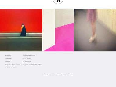 Photographer Website with Drupal 8, Bootstrap and jQuery