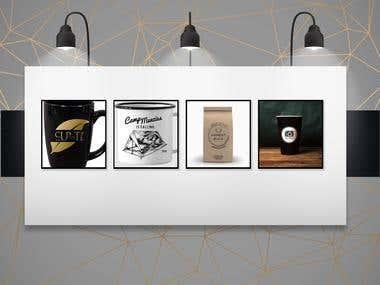 Mugs & coffee bag