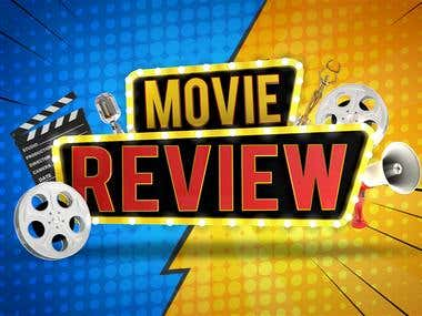 Movie Review Title Animation