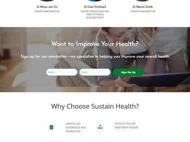 Health site