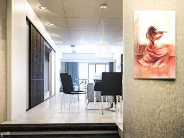 Many Shots for interior design flat