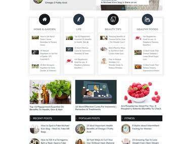 Blog Site (Wordpress)
