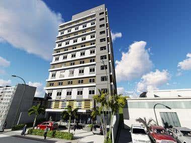 Proposed 12-Storey Hotel