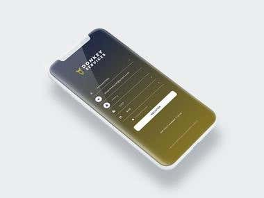 Mobile App UI Design
