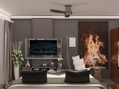 3D Modeling and interior Design