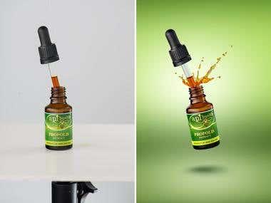 Product photography & retouching