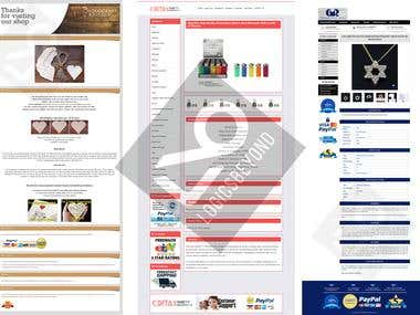 Professional eBay Shop Store & Listing Template Design